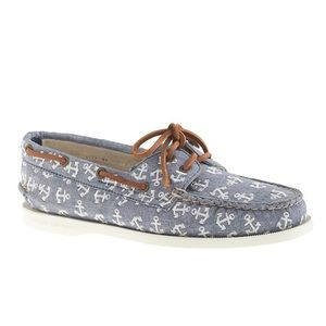 SPERRY TOP-SIDER x J.Crew Anchor Boat Shoes 10